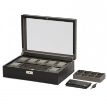 WOLF Howard Watch Box w/ Cufflink Tray|escape