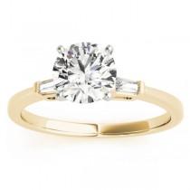 Tapered Baguette 3-Stone Diamond Bridal Set 18k Yellow Gold (0.30ct)