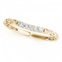 Vintage Heirloom Engagement Ring Bridal Set 18k Yellow Gold (2.35ct)