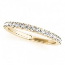 Round Diamond Halo Bridal Ring Set 14k Yellow Gold (1.57ct)