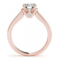 Diamond Accent Bridal Set 18k Rose Gold (0.48ct)