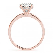 Diamond Solitaire Engagement Ring 18k Rose Gold (1.07ct)