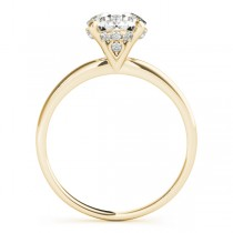 Diamond Solitaire Engagement Ring 18k Yellow Gold (1.07ct)