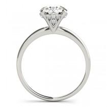 Diamond Solitaire Bridal Set 14k White Gold (1.20ct)