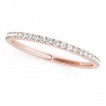 Diamond Solitaire Bridal Set 18k Rose Gold (1.20ct)