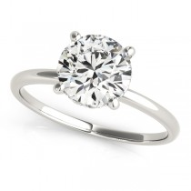 Diamond Solitaire Bridal Set Palladium (1.20ct)