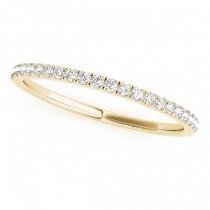 Blue Sapphire & Diamond Solitaire Bridal Set 18k Yellow Gold (1.20ct)
