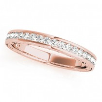 Diamond Twisted  Bridal Set 14k Rose Gold (0.87ct)
