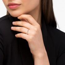 Diamond Antique Style Wedding Band 18k Rose Gold (0.04ct)