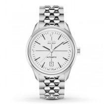 Men's Bulova Watch Automatic AccuSwiss with Stainless Steel Bracelet