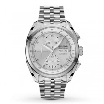 Men's Bulova Watch AccuSwiss Automatic Stainless Steel Chronograph