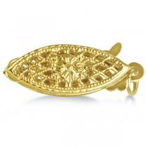 Cultured Freshwater Pearl Strand Bracelet 14K Gold Clasp 7.0-7.5mm