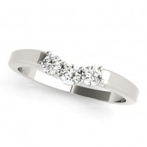 Diamond Solitaire Bridal Set 14k White Gold (1.24ct)