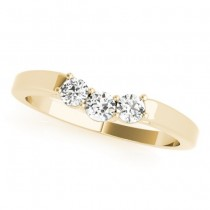 Diamond Solitaire Bridal Set 14k Yellow Gold (1.24ct)