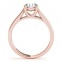 Diamond Solitaire Bridal Set 18k Rose Gold (1.24ct)