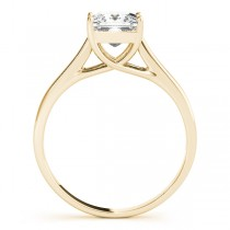 Solitaire Bridal Set 14k Yellow Gold