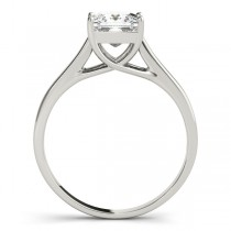 Solitaire Bridal Set 18k White Gold