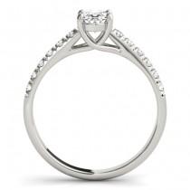 Oval Cut Diamond Engagement Ring Platinum (1.46ct)