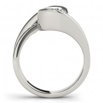 Diamond Tension Set Engagement Ring Setting Platinum (0.19ct)