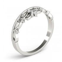 Diamond Accented Tiara Ring in 14k White Gold (0.07ct)