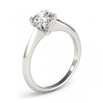 Diamond Solitaire 8 Prong Engagement Ring 14k White Gold (1.00ct)