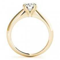 Diamond Solitaire 8 Prong Engagement Ring 14k Yellow Gold (1.00ct)