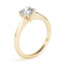 Diamond Solitaire 8 Prong Engagement Ring 18k Yellow Gold (1.00ct)