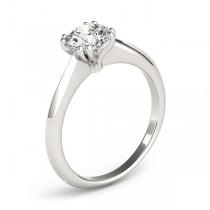 Diamond Solitaire 8 Prong Engagement Ring Platinum (1.00ct)