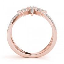 Diamond North Star Fashion Ring 14k Rose Gold (0.47ct)