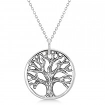 Tree of Life Pendant Necklace 925 Sterling Silver