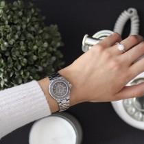 Allurez Unisex Ceramic Fashion Wrist Watch Swiss Made