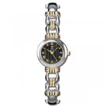 Allurez Women's Contemporary Two-Tone Swiss Quartz Wrist Watch