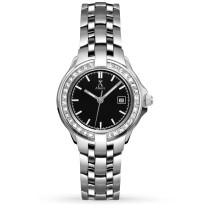 Allurez Women's Swarovski Crystal Accented Stainless Steel Watch