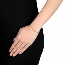 Link ID Bracelet 18k Rose Gold