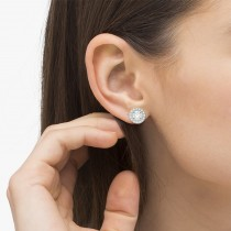 Vintage Round Cut Diamond Earring Jackets|escape