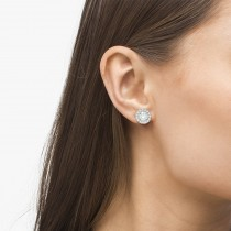 Vintage Round Cut Diamond Earring Jackets
