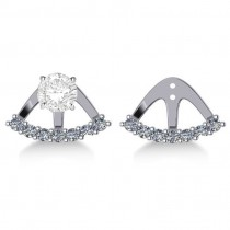 Freeform Diamond Earring Jackets