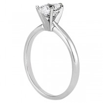 Six-Prong Palladium Engagement Ring Solitaire Setting|escape