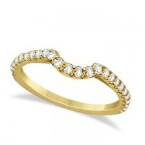 Halo Diamond Bridal Set w/ Side Stones 14K Yellow Gold (1.83ct)