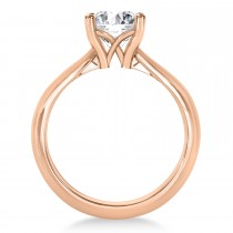 Diamond Fancy Engagement Ring 14k Rose Gold