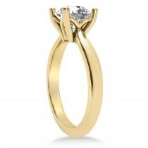 Diamond Fancy Engagement Ring 18k Yellow Gold