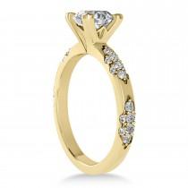 Diamond Prong Engagement Ring 14k Yellow Gold (0.32ct)