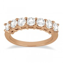 0.65ct Diamond Engagement Ring with Matching Engagement Band 14k Rose Gold