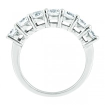 Semi-Eternity Diamond Wedding Band in 14k White Gold (0.35 ctw)