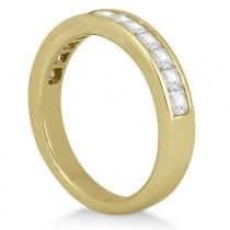 Princess Diamond Engagement Ring & Bridal Set 18k Yellow Gold (1.10ct)