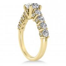 Diamond Prong Set Engagement Ring 18k Yellow Gold (1.06ct)