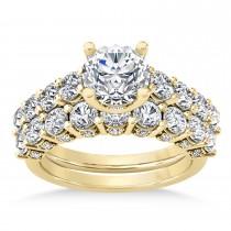 Diamond Prong Set Bridal Set 18k Yellow Gold (2.23ct)