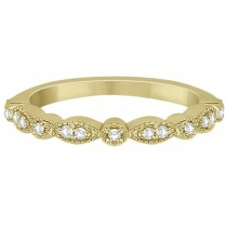 96d48583f4a ... Petite Marquise   Dot Diamond Wedding Band in 18k Yellow Gold (0.13ct)  ...