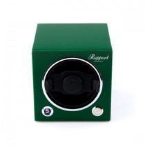 Rapport London Evocube Electric Single Watch Winder Racing Green