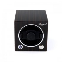 Rapport London Evocube Electric Single Watch Winder Macassar Wood
